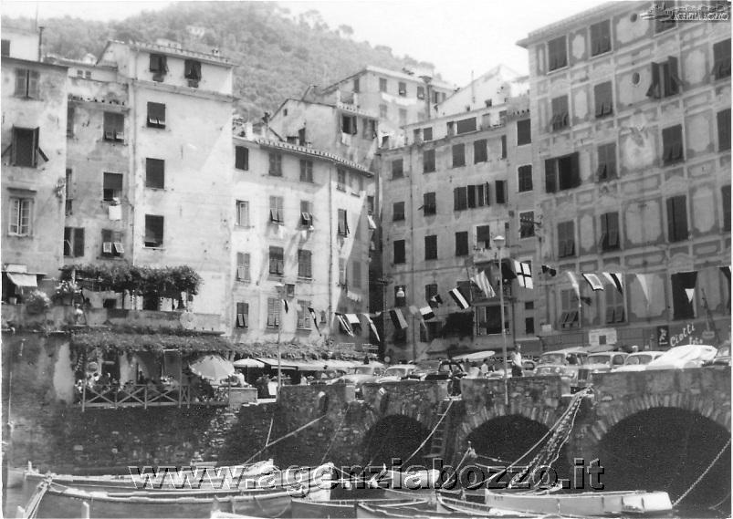 Agenzia Bozzo Camogli Foto Antiche Porto Piazza Colombo Montecamozzo Luciano