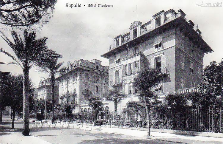 Album Fotografico Di Camogli Antica Rapallo Alberghi