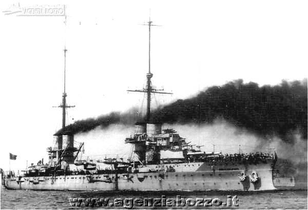 Navi da guerra rn dante alighieri 1910 nave corazzata for Andrea doria nave da guerra
