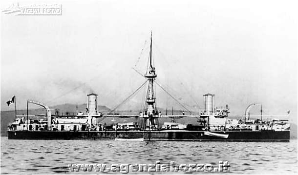 Navi da guerra rn ruggiero di lauria 1884 nave for Andrea doria nave da guerra