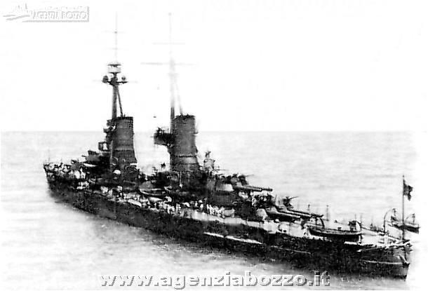 Navi da guerra r n andrea doria 1913 nave corazzata for Andrea doria nave da guerra