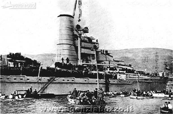 Navi da guerra | RN Caio Duilio 1913 | nave corazzata da ...