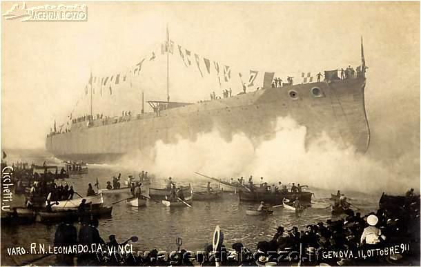 Centoventi palombari per una corazzata, il recupero della Leonardo Da Vinci  - 1 parte di Fabio Vitale