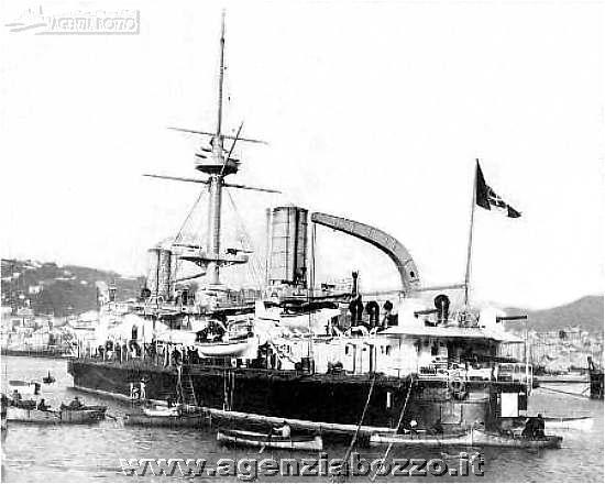 Navi da guerra r n ruggiero di lauria 1884 nave for Andrea doria nave da guerra