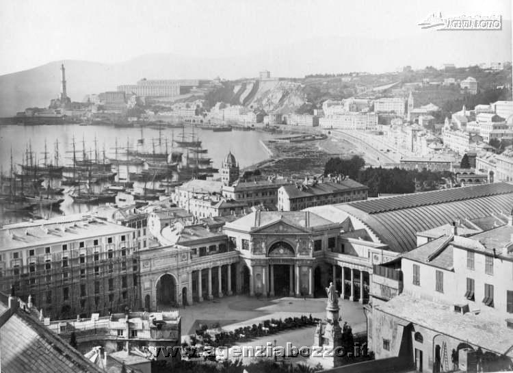 Agenzia bozzo foto navi a vapore 1850 1950 porto di - Genova porta principe ...